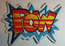 POW Embroidered Iron On Sew on Patch Transfer Comic Book Super Hero Transfer
