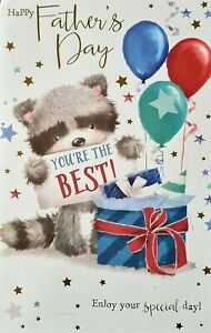 """Happy Father's Day Dad  """"You're the Best"""" Card"""