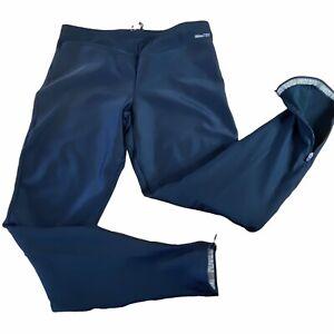 Pearl Izumi Amfib Tight Black Fleece Lined Cycling Pants Ankle Zips Men's XL
