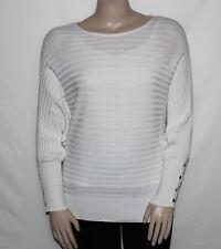 NEW Alfani Plus Size 2X CLOUD Long Dolman Sleeve Ribbed Knit Sweater $65.50