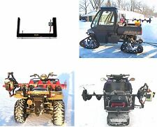 Ice Auger Carrier Mount Rack - Fits on ATV Snowmobile and All Ice Fishing Augers