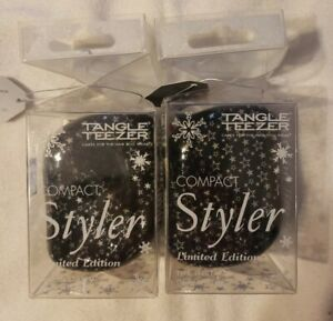 Tangle Teezer Detangling Compact Styler Hair Brush Limited edition lot of 2