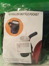 Baby Stroller Cup Holder Drink Pocket Bag Milk Bottle Phone Holder New (Other)