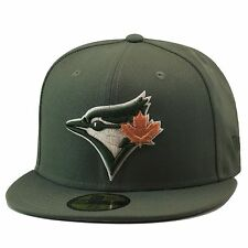 New Era Toronto Blue Jays Fitted Hat Olive Green/Tan Leaf For timberland