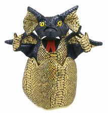 Puppet Company Handpuppe schwarzer Drache Drachenbaby im Ei ( Ei ca. 20cm hoch )