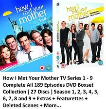 HOW I MET YOUR MOTHER COMPLETE SERIES 1 - 9 DVD BOX SET SEASON 1 2 3 4 5 6 7 8 9