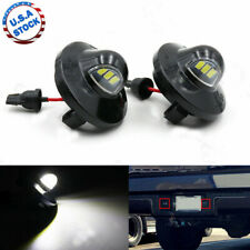 2x Led License Plate Light Tag Lamp Assembly Replacement For Ford F150 F250 F350