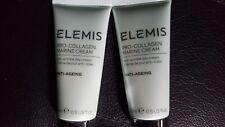 Elemis Pro-Collagen Marine Cream Anti-Ageing/ Wrinkle Day Cream - 15ML - X2!!!!!