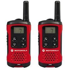 Motorola T40 PMR Twintalker Rot-Schwarz PMR-Funkgerät 8 PMR-Kanäle LCD-Display