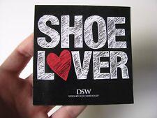 Shoe Lover Logo Heart Magnet Black Red White Square Dsw Warehouse Store Gift Lg