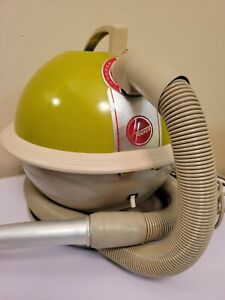 Vintage Hoover Constellation Lime Apple Green Canister Vacuum Handle Model 858