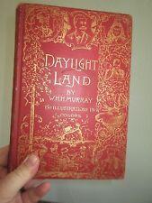 (1888) SIGNED W.H.H. MURRAY, DAYLIGHT Land Canadian wildlife hunting Adirondacks