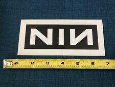 NINE INCH NAILS Vinyl The Fragile 2002 NIN Rare Promo Hype Sticker Reverse Color