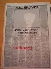 PATTI SMITH Wave album review NME 1979 ARTICLE / clipping