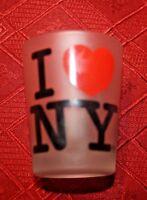 "I love New York Shot Glass 2"" collectible"