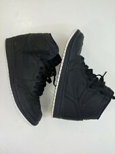 Nike Air Jordans Shoes Retro black Perforated Size 9.5 US sneakers
