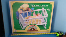 Vintage 1986 Cabbage Patch Kids Rocking Cradle #3986 Coleco NIB