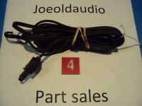 Kenwood KR 3400 Original Line Cord w/ Strain Relief. Tested. Parting Out KR 3400