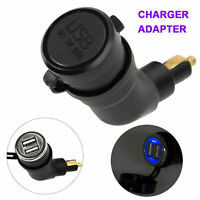 Adjustable Dual USB interface Port Charger Adapter für BMW R1200GS R1200RT F800