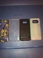 Lot Of 4pc Authentic Samsung S8 Milk & Honey, Tech21, Incipio , Speck Cases