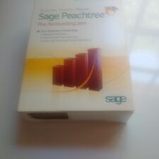 Sage Peachtree Accounting Software Peachtree Pro Accounting 2011 Used Registered