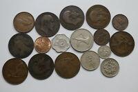 UK GB OLD COINS HUGE LOT A99 ZC39