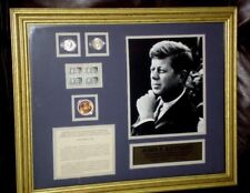JOHN F. KENNEDY Limited Edition Commemorative Collection Coins & Stamps (C of A)