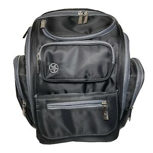 Jeep Diaper Bag J is for Jeep Perfect Pockets Backpack Diaper Bag Black & Gray