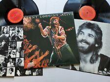 KENNY LOGGINS - Alive 1980 AOR SOFT ROCK Gatefold 2LP
