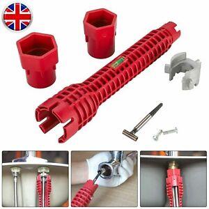 8 in 1 Multifunction Faucet Sink Installer Wrench Plumbing Pipe Spanner Tool UK