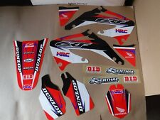 TEAM HONDA  GRAPHICS CRF450 CRF450R    2002 2003 2004