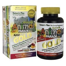 Nature's Plus Animal Parade AP Gold Assorted Chewables 60 Quantity