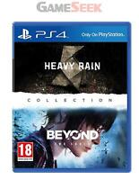 HEAVY RAIN AND BEYOND TWO SOULS COLLECTION - PLAYSTATION PS4 BRAND NEW