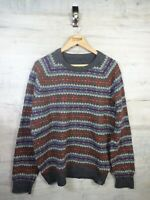 vtg Cosby Style fatface  Knit Wool  sweater jumper refA21 Large