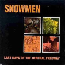 Last Days of the Central Freeway Snowmen MUSIC CD