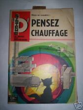 SYSTEME D N°214 1963 SPECIAL CHAUFFAGE / MOTOCULTEUR