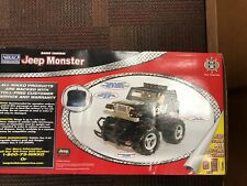 Nikko RC Jeep Monster Jeep Crawler Radio Controlled Truck New In Worn Box
