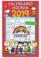 Peanuts Snoopy Calendario Agenda Da Parete 2019 EURO PUBLISHING