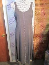 Beautiful Free Peop long jersey effect dress w/hook n eye front side slits,M nwt