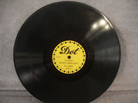 "Joe Liggins, Down Home Blues / Tanya, Dot 1033, 10"" 78 RPM, Blues"