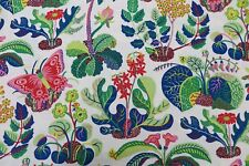 Schumacher Curtain Fabric Design Exotic Butterfly 3 Metres Spring Indoor/outdoor