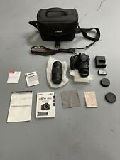 Canon EOS Rebel T6 Digital Camera - Kit with 18-55mm and 75-300mm Lenses