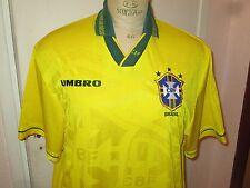 Maillot shirt jersey trikot ancien BRASIL BRAZIL BRESIL 1993-1994 UMBRO XL