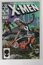 Uncanny X-Men #216 NM- Barry Smith Cover Wolverine Marvel Comics 1987-D0718-006