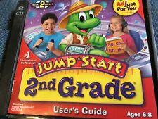 JumpStart 2nd Grade Deluxe PC MAC CD OOP C2