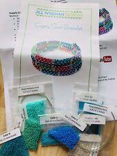 Chenille  Stitch Bracelet Kit , Jewelry Making Kit