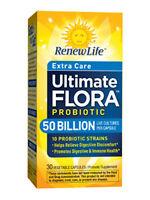 ReNew Life Extra Care Ultimate Flora Probiotic 50 Billion 30 caps