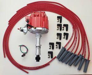 BUICK 1964-1974 340 350 SMALL BLOCK HEI DISTRIBUTOR + 8.5mm UNIVERSAL Plug Wires