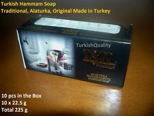 Turkish Hammam Soap, Natural Excellent Quality Made in Turkey Soap, 10 pc in box