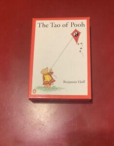 Box set Benjamin Hoff TAO OF POOH THE TE OF PIGLET Box has some edge/cornertip
